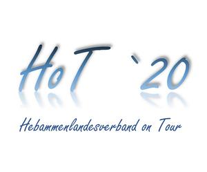 Hebammenlandesverband on Tour - Urheberin Logo: Christiane Rübenach, 2. Vorsitzende HLV RLP